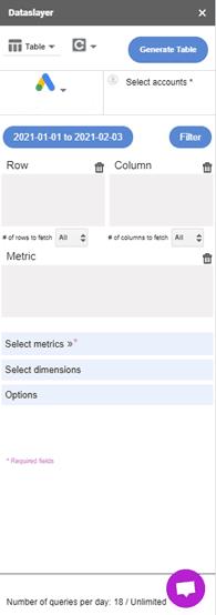 dataslayer add-on